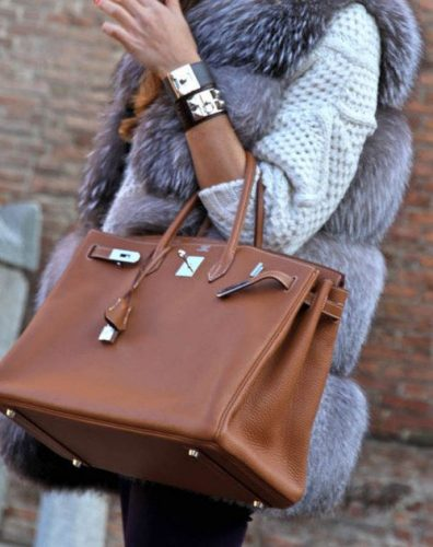 Tan Birkin hermes bag