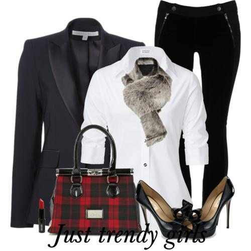 black blazer with white shirt 1 s