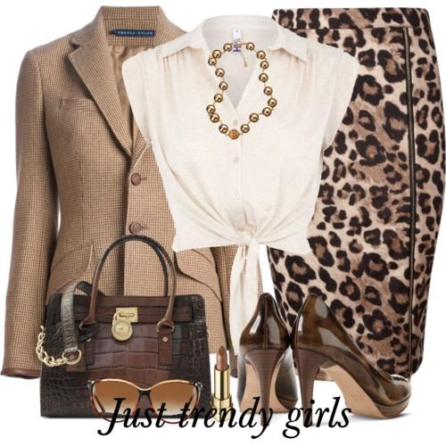 casual leopard skirt 27 s