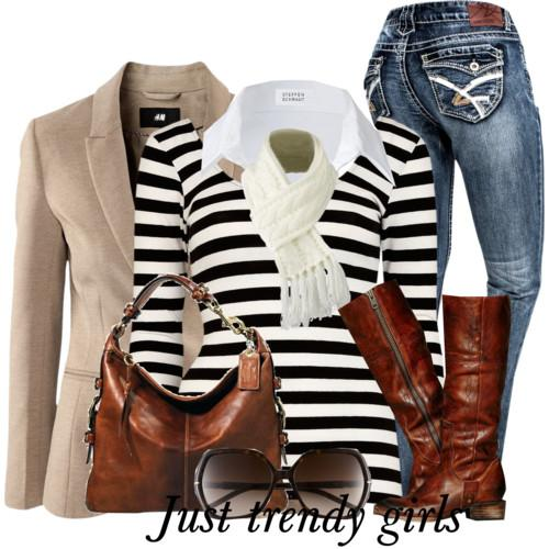 casual stripes outfit 10 aa