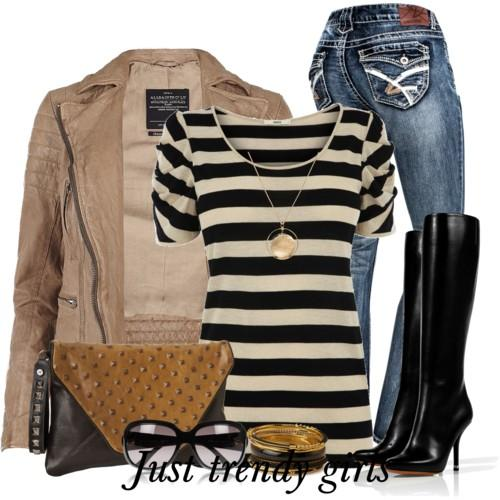 casual stripes outfit 2 s