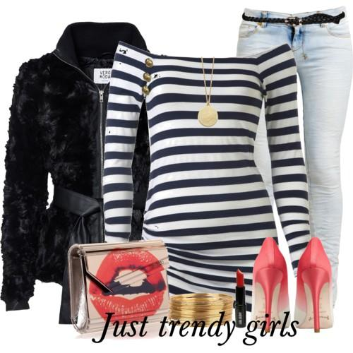 casual stripes outfit 4 a
