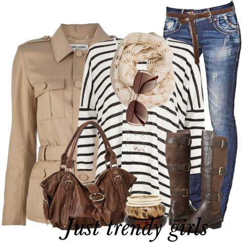 casual stripes outfit 5 s
