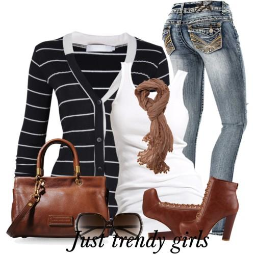 casual stripes outfit 6 s