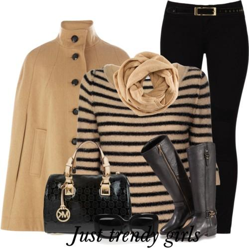 casual stripes outfit 7 s