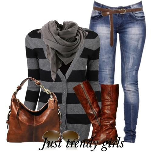 casual stripes outfit 8 a