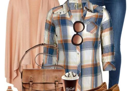 Cowboy checked shirts with denims