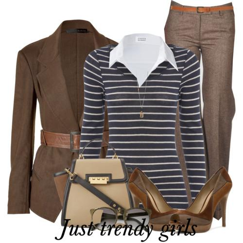 classic stripe outfit 9 s