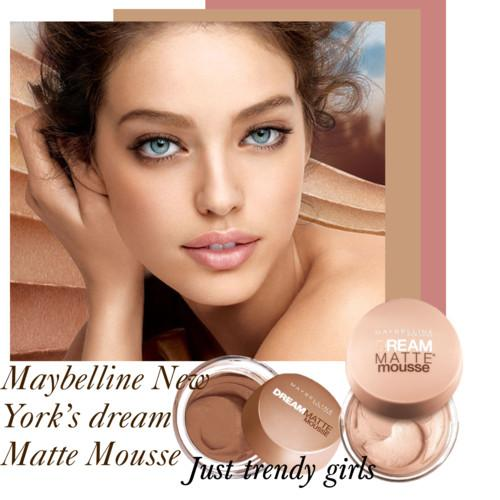 maybelline new york matte dream mousse 7 s