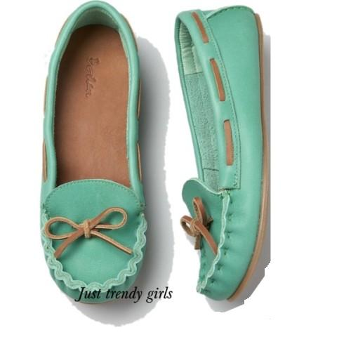 mint moccasin ,