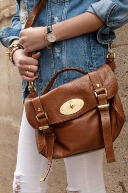 mulberry tan shoulder bag