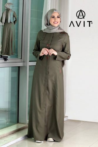 olive maxi dress avit hijab