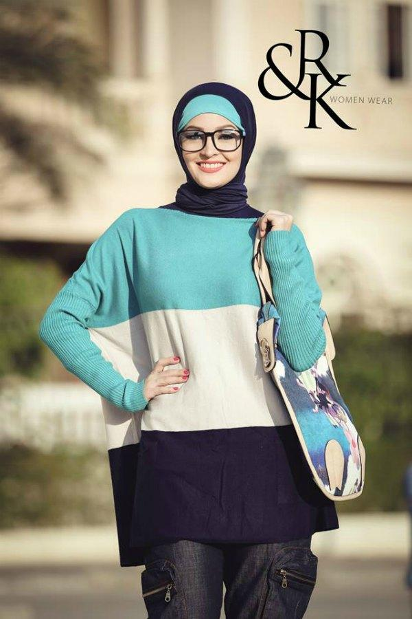 R K Naima Kamel Hijab Fashion Just Trendy Girls