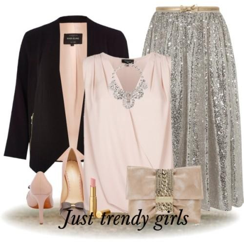 soiree simple outfit