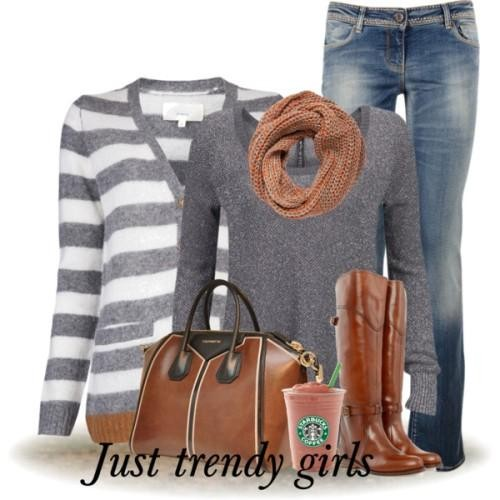 casual cardigan with jeans