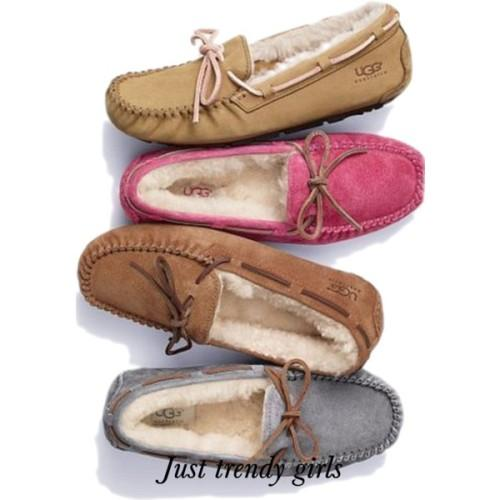 ugg moccasin earthy colors,