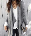 Winter outfits in black and white