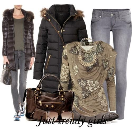 puffer coat for woman