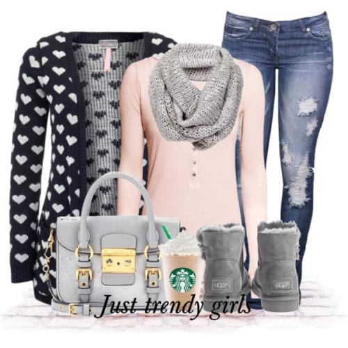 14 Superb Winter Girly Outfit | iefashions.com
