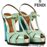 Fendi sandals collection