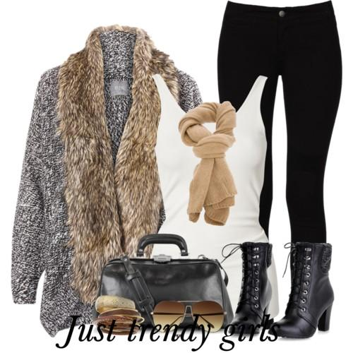 guess fur cardigan 2 s