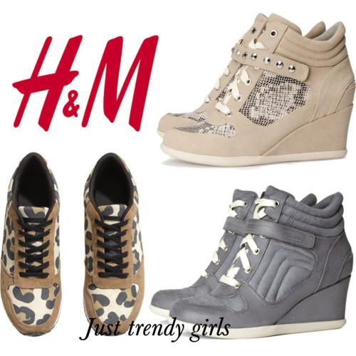 h&m sneakers 2 s