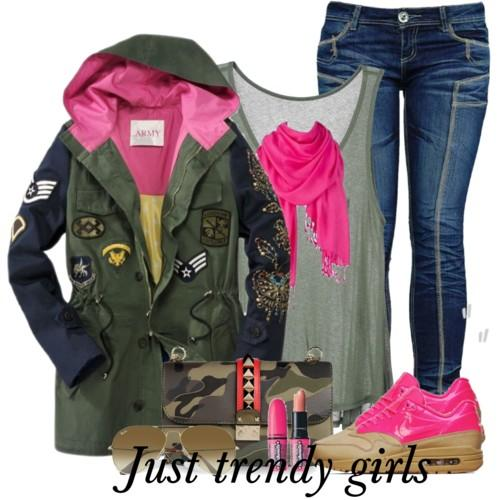 military fashion style 10 d