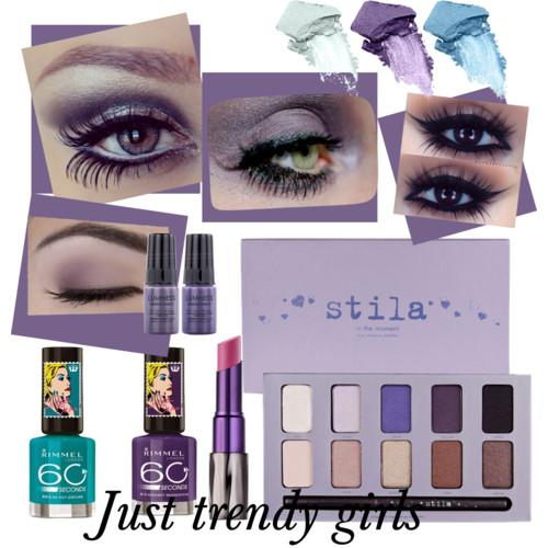 purple eye makeup 2 s