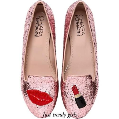 lipstick loafers