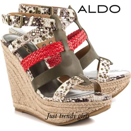 aldo earthy wedge sandals,