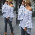 Ruffle and off the shoulder blouses