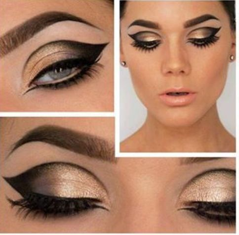 cat eye make up 1