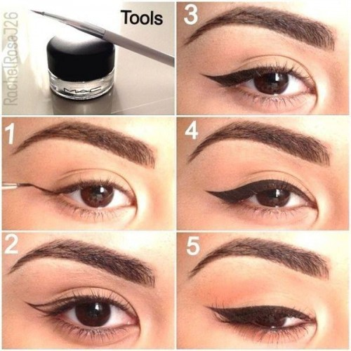 cat eye make up 3