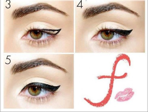 cat eye make up 4