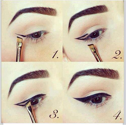 cat eye make up 5