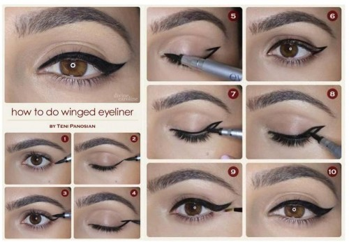 cat eye make up 6