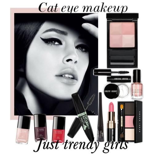 cat eye make up sa
