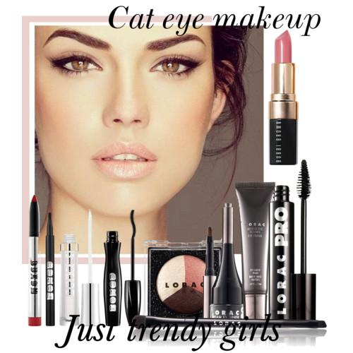 cat eye make up ss