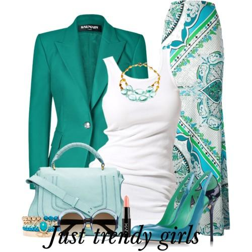 color blocking outfits 10 s