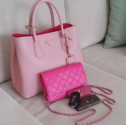 Cute Pink Prada Bag