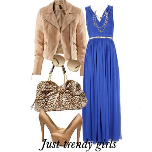 maxi dress with blazer 11 s