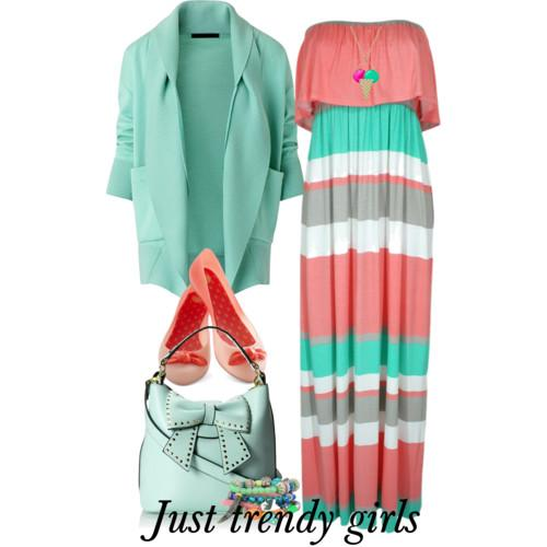 maxi dress with blazer 17 s