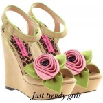 Summer wedge sandals for woman