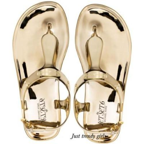 michael kors jelly sandal
