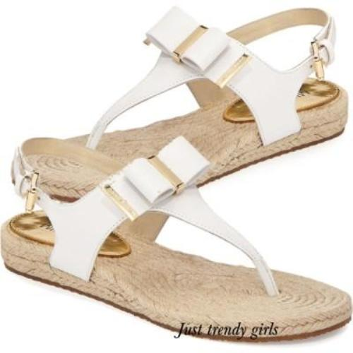 michael kors bow sandals