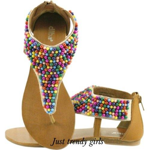 sandal with beads s