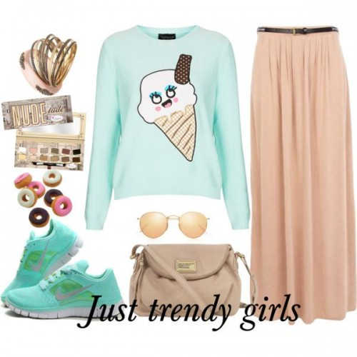 candy sporty outfit