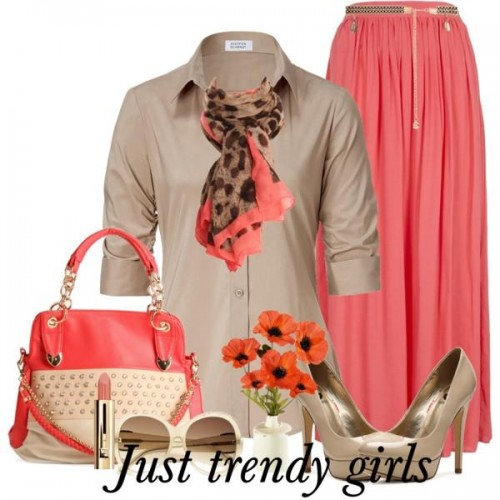 coral style skirt 5