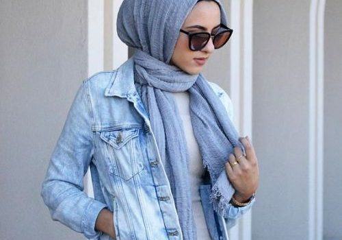 Modern and fashionable hijab outfits