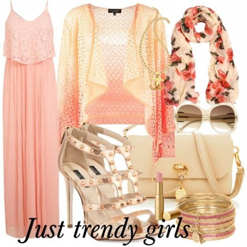 dress in pink s